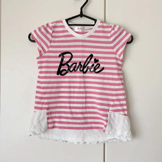 バービー(Barbie)のバービー 110cm Tシャツ Barbie(Tシャツ/カットソー)