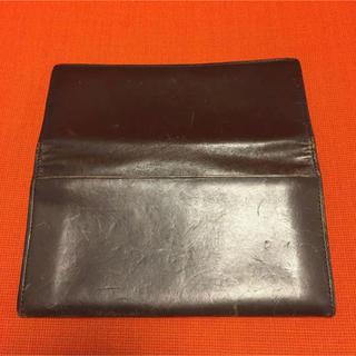 ムジルシリョウヒン(MUJI (無印良品))の無印良品 革財布 長財布(長財布)