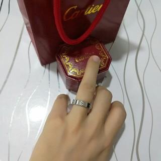 カルティエ(Cartier)のCartierカルティエ リング レディース 超美品 6#(リング(指輪))