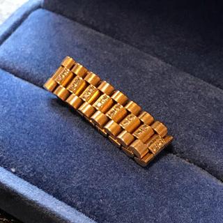 ロレックス(ROLEX)のロレックス Rolex k18オーダーリング(リング(指輪))