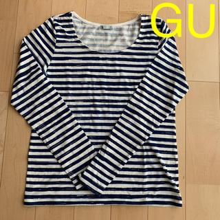 GU - GU  ボーダーTシャツ  サイズS
