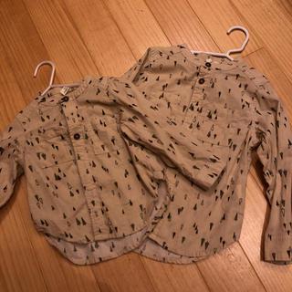 サマンサモスモス(SM2)のお揃いシャツ サイズ95 110 男女OK(ブラウス)