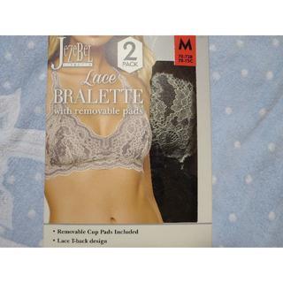 Jezebel (ジザベル )レースブラレット M 黒とグレー 2枚セット(ブラ)