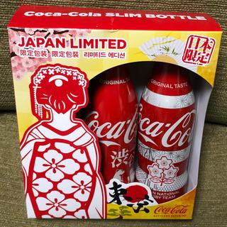 コカ・コーラ - ☆限定商品 オリンピック 渋谷 ラグビーコカコーラ スリムボトル 3本セット☆