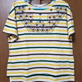 キューブシュガー(CUBE SUGAR)のキューブシュガーカットソー(マルチ)(Tシャツ(半袖/袖なし))