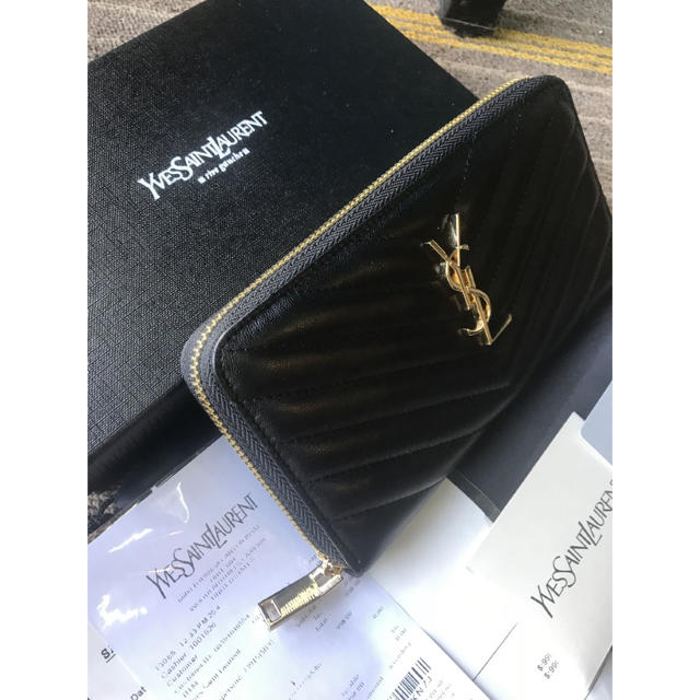 Saint Laurent - サンローラン 長財布の通販 by yumi's shop|サンローランならラクマ