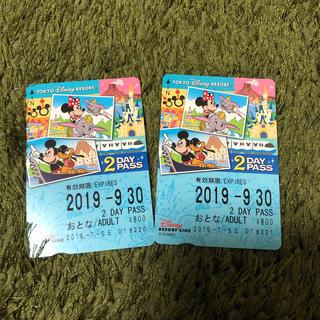 ディズニー(Disney)のディズニーリゾートライン切符(その他)