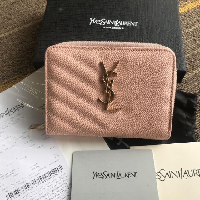 ダミエ 偽物 見分け | Saint Laurent - サンローラン 財布の通販 by はる's shop|サンローランならラクマ