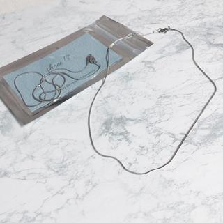 カスタネ(Kastane)の8/3まで限定価格 stainless snake chain necklace(ネックレス)