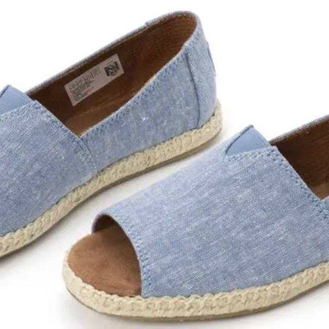 TOMS(トムズ)のほぼ未使用★TOMS★22cm レディースの靴/シューズ(スリッポン/モカシン)の商品写真