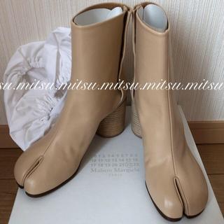 マルタンマルジェラ(Maison Martin Margiela)のmaison margiela 35 足袋ブーツ ベージュ 新品(ブーツ)