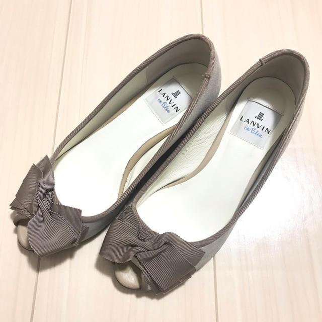 LANVIN en Bleu(ランバンオンブルー)のランバンオンブルー  サンダル レディースの靴/シューズ(ハイヒール/パンプス)の商品写真
