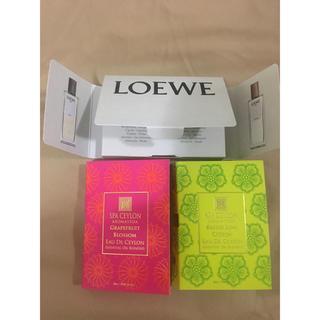 ロエベ(LOEWE)のLOEWE スパセイロン 香水テスターセット(香水(女性用))