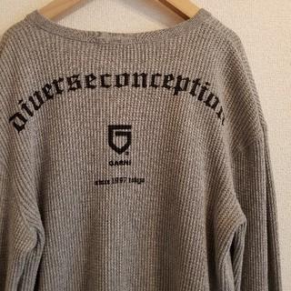 ガルニ(GARNI)の日本製 GARNI ガルニ 前後刺繍 ワッフル ロングスリーブカットソー/長袖(Tシャツ/カットソー(七分/長袖))