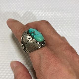 マライカ(MALAIKA)のヴィンテージリング 《★ Navajo ★》ナバホ インディアンジュエリー 指輪(リング(指輪))