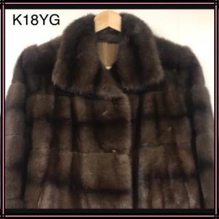 フェンディ(FENDI)のFENDI フェンディ ミンクファーコート 42サイズ ミンク 毛皮コート(毛皮/ファーコート)