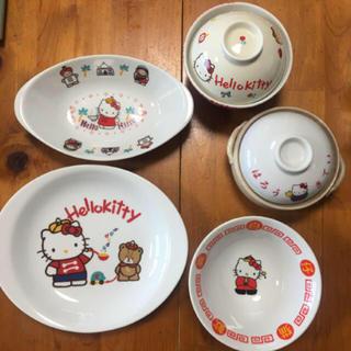 サンリオ - 美品!サンリオ 昭和 レトロ ハローキティ 食器 5点セット!