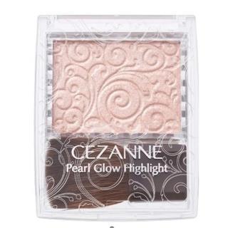 セザンヌケショウヒン(CEZANNE(セザンヌ化粧品))の新品未使用 セザンヌ パールグロウハイライト 02 セット(フェイスカラー)
