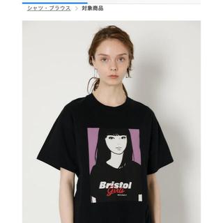マウジー(moussy)のmoussy × kyne ×fc bristol Tシャツ ブラック(Tシャツ(半袖/袖なし))