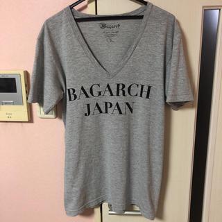 シュプリーム(Supreme)のBAGARCH Vネック Tシャツ バガーチ AK-69(Tシャツ/カットソー(半袖/袖なし))