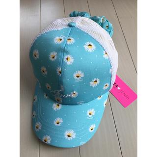 JENNI - 新品【Jenni ジェニィ】可愛いリボン付き 帽子 キャップ 子供 56