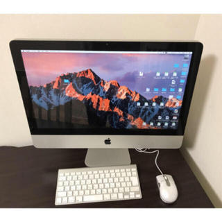 マック(Mac (Apple))のiMac 2011(デスクトップ型PC)