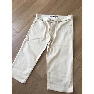 ダブルスタンダードクロージング(DOUBLE STANDARD CLOTHING)のダブルスタンダードクロージング パンツ オフホワイト(ハーフパンツ)