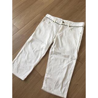 ダブルスタンダードクロージング(DOUBLE STANDARD CLOTHING)のダブルスタンダードクロージング パンツ ホワイト(ハーフパンツ)