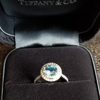 ティファニー(Tiffany & Co.)の【マリリ様専用】ティファニー ソレストリング アクアマリン 0.7ct(リング(指輪))