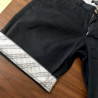 バーバリーブラックレーベル(BURBERRY BLACK LABEL)の値下げ!BURBERRY ショートパンツ メンズ 黒(ショートパンツ)