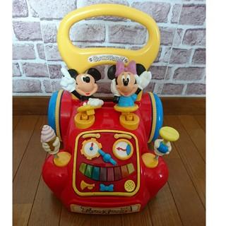 ディズニー(Disney)のトゥータウン あっちこっちウォーカー ディズニー(手押し車/カタカタ)