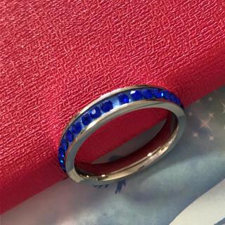 大きめサイズ 指輪 レディース 22.4号 ステンレス リング 1個(リング(指輪))