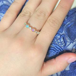 アガット(agete)のオパールのリング(リング(指輪))