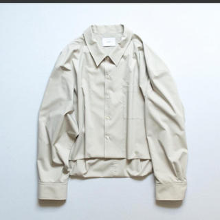 【新品】stein / SHORT LENGTH CARDIGAN SHIRT(シャツ)