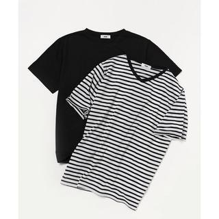 ロデオクラウンズワイドボウル(RODEO CROWNS WIDE BOWL)の未開封 RODEO CROWNS WIDE BOWL VネックTシャツ セットL(Tシャツ/カットソー(半袖/袖なし))