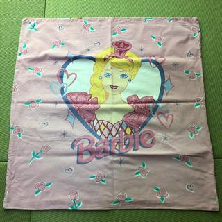 バービー(Barbie)のBarbie   ビンテージピローケース(生地/糸)