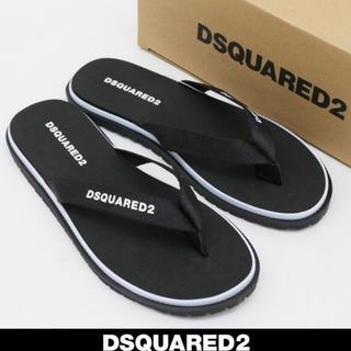 ディースクエアード(DSQUARED2)の2019SS最新作 新品 DSQUARED2 サンダル 黒 42/27cm(サンダル)
