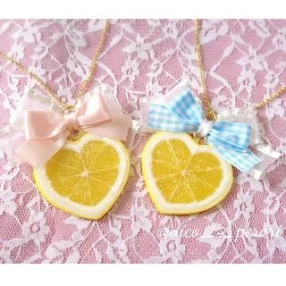 ハートレモンのネックレス(ネックレス)