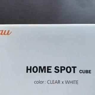 エーユー(au)のau HOME SPOT CUBE 新品未使用品(その他)