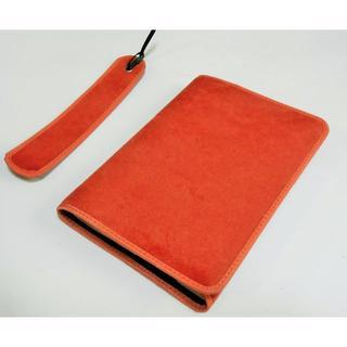 biabia_6専用【ブックカバー】文庫本オレンジ+単行本ブラックサイズ(ブックカバー)
