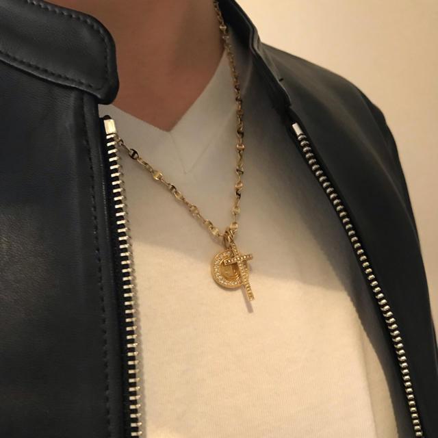 EYEFUNNY(アイファニー)の定価29万円 アイファニー フラットクロスS メンズのアクセサリー(ネックレス)の商品写真