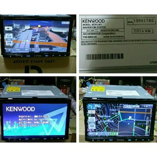 KENWOOD - KENWOOD 彩速SSD MDV-L401 2014製ワンセグSD録音/DVD