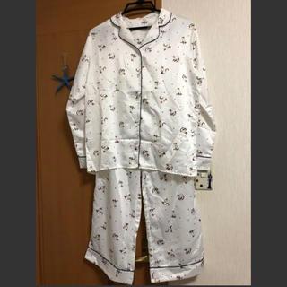 ジーユー(GU)のGU ジーユー 新品 パジャマ キャット 猫 サテン(パジャマ)