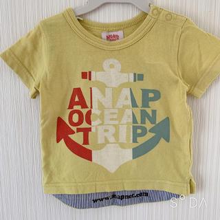 アナップキッズ(ANAP Kids)のANAP ♡ Tシャツ(Tシャツ)