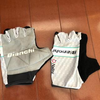 ビアンキ(Bianchi)のNALINI/BIANCHI サイクルグローブ(ウエア)