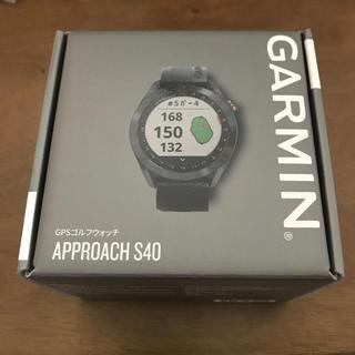 ガーミン(GARMIN)のガーミン S40 新品未使用 ゴルフナビ スマートウオッチ(その他)