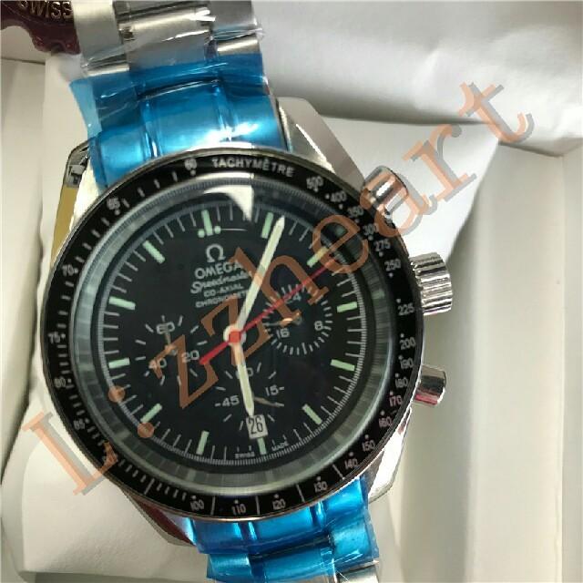 モーリス・ラクロア時計コピー新品 | OMEGA - OMEGA 黒文字盤 メンズ 腕時計 の通販 by rinertyer's shop|オメガならラクマ
