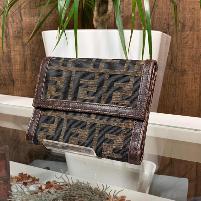 FENDI - FENDI ズッカ 折り財布 フェンディの通販 by L-CLASS's shop|フェンディならラクマ