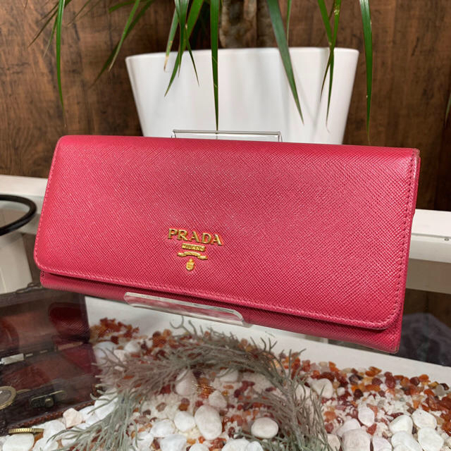 PRADA - PRADA プラダ 長財布 ピンク サフィアーノの通販 by L-CLASS's shop|プラダならラクマ