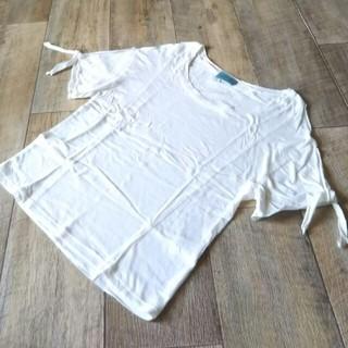デイシー(deicy)のdeicyデイシーカットソーTシャツホワイト(Tシャツ(半袖/袖なし))